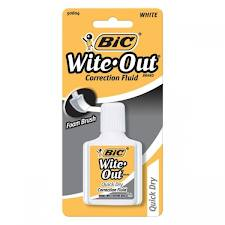 Bic Wite Out