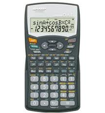 Sharp EL531WHBK Scientific Calculator