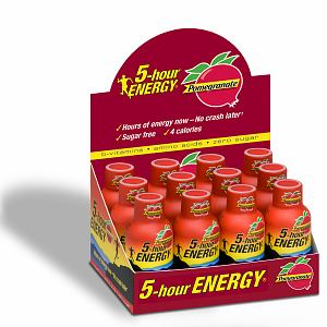 5 Hour Energy Shot Pomegranate