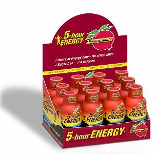 5 Hour Energy Shot Pomegranate