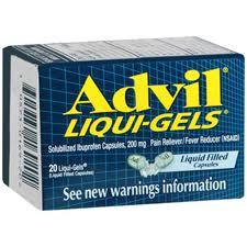 Advil Liquid Gel capsules 20tab