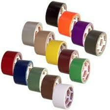 COLORED DUCT TAPE 2 X 10 YDS