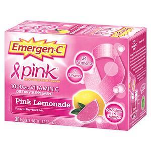 Emergen-C 1000mg Pink Vitamin-C Pink Lemonade