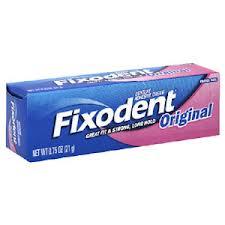 Fixodent Original Denture Cream Travel Size