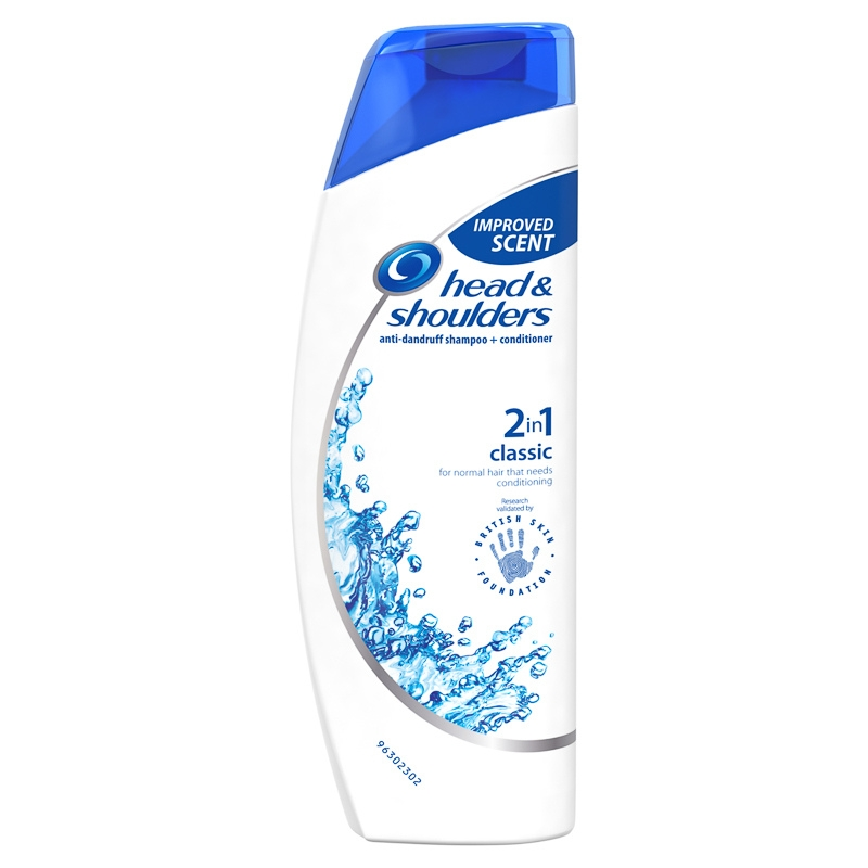Head Shoulders Shampoo Classic Clean
