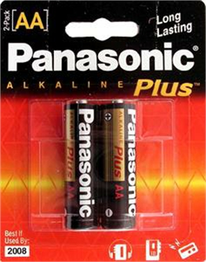 Panasonic Battery AA-2 alkaline