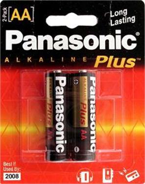 Panasonic Battery AA-2 alkaline