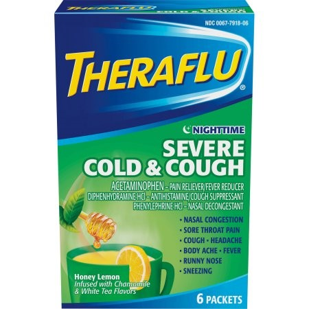 Theraflu Nighttime Severe Cold & Cough