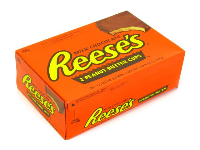 Reeses Peanut Butter Cups Box