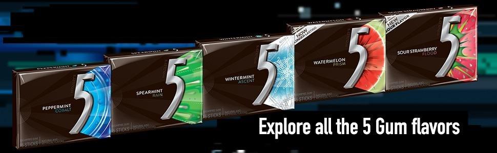 Wrigley 5 Chewing Gum